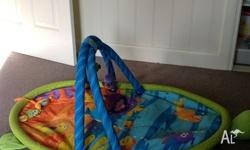 Used Lamaze activity gym. Folds for easy storage. I