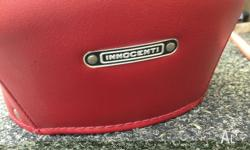 LAMBRETTA SX 200 RED GIULIARI Italian reproduction seat