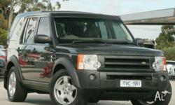 LAND ROVER,DISCOVERY 3,2005, 4WD, Green, 4D WAGON,