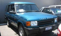 LAND ROVER, DISCOVERY, 1995, 4D WAGON, 3.9, 8cyl,