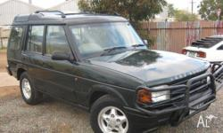 LAND ROVER,DISCOVERY,1997, 4WD, green, beige trim, 4D