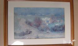 A Walter Withers Print Australian Landscape Artist