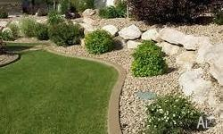 - TOP SOIL LAYING - TURF LAYING - PEBBLE STONE DESIGNS