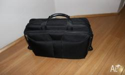 This item is a black laptop bag. I was given the bag as