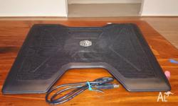 "Laptop cooling pad is suitable for 12"" to 15.4"" laptop,"
