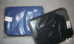 padded and protective packaged brand new blue or black