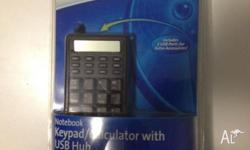 Brand new laptop keypad with usb hub for sell. Only $15
