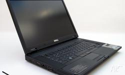 "Large 15.4"" Dell Core 2 Duo Delivered Free With"