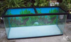 Up for grabs is this aqua one aquarium suitable for a