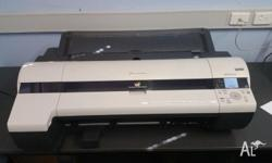 Rarely used Canon iPF610 printer. Capable of printing