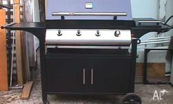 Hi, i have a large hooded BBQ, it has 4 burners, a side