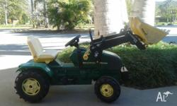 John Deere Brand Large Ride on Tractor with Tipper