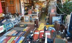 There is a large range of collectible items here..I