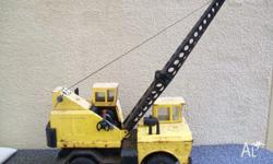 Two large Tonka toys in used condition , with parts