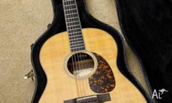 Really lovely acoustic guitar - solid spruce top, solid