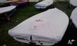 Laser sailing dinghy in excellent racing condition.