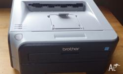 Brother laser printer comes boxed with all software and