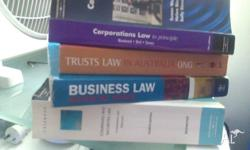 I have the following Law books for sale. They are all