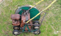 Hi I have a classic Alroh lawn edger for sale. It has a