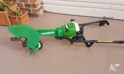 lawn edger Atom model 415 2 stroke petrol edger in