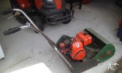 "Lawn mower. 19"" cylinder. Good runner. Not needed"