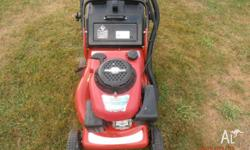 rover push lawn mower fitted with a 5hp? briggs and