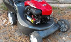 MASPORT 4 stroke (normal petrol) lawn mower and