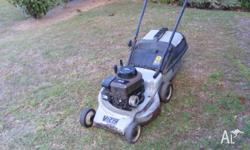 LAWN MOWER 4 STROKE ,BRIGGS & STRATTON MOTOR , GOOD