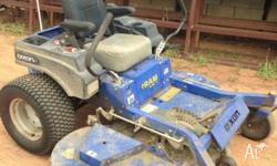"Dixon RAM Ultra ZTR 72"" ride on Mower. New Drive tyres,"