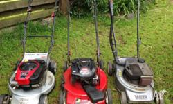 10% mower service discount for rest of September