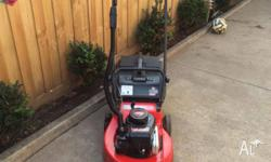 For sale are numerous lawn mowers all running well and