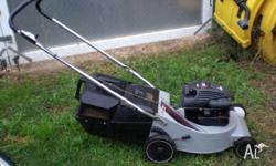 masport 4 stroke lawnmower alloy base model wont rust