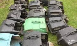 I HAVE A LARGE RANGE OF S/HAND MOWER CATCHERS FROM $15
