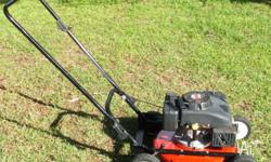 MASPORT UTILITY MOWER IN VGC. FOUR STROKE OVER HEAD
