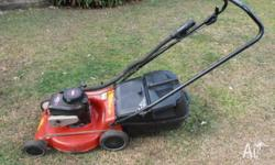 MASPORT LAWNMOWER CRUSADER 400 MODEL 4 HP BRIGGS AND
