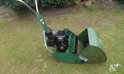 "SCOTT BONNAR 17"" REEL MOWER.. IN EXCELLENT CONDITION &"