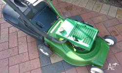 MOWER VICTA 2 STROKE STARTS AND RUNS VERY WELL HAS HAD