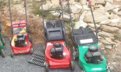 All are 4 stroke mowers. $100 each. $15 trade on your