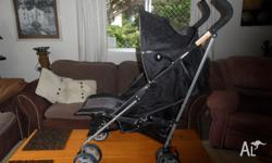 Lay Back Stroller. As New Condition. Shopping Under.
