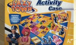 Lazy Town Activity Case Contains: 1 - Snakes & Ladders