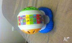Leap frog baby - musical wheel singing abc and makes
