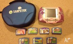 Leap Frog Leapster in good working condition. Includes