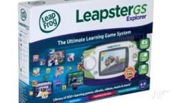 Leapfrog Leapster GS Explorer GREEN - Brand NEW in BOX
