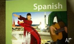 Learn to speak Spanish, phrase book comes with CD. As