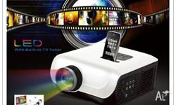 LED PROJECTOR: 3D IMAGING HD-9500 with HD Projector