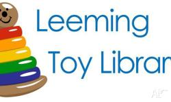 Leeming Toy Library has a large range of toys,