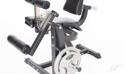 The BRUTEforce® ECK-3 Leg Extension and Leg Curl