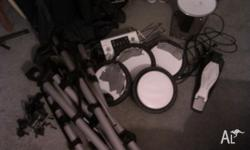 Legend electronic drum kit. Drum module works well