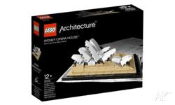 Lego 21012 Opera House Architecture Series FEATURES: