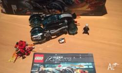 Lego 70162 Ultra Agents Infearno Interception Great